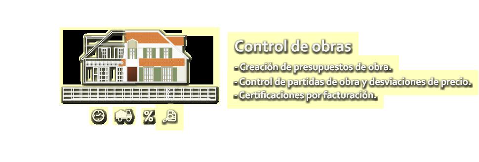 ERP Módulo Control Obras