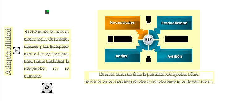 Adaptabilidad con ERP ManPro
