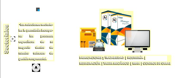 Módulos sectoriales con ERP ManPro