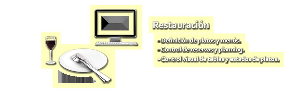 ERP Módulo Restauración
